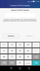 Desbloqueo del equipo por medio del patrón - Huawei Y6 - Passo 10
