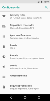 Configura el WiFi - Motorola Moto G6 Plus - Passo 4