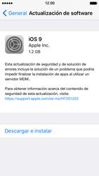 Actualiza el software del equipo - Apple iPhone 5s - Passo 7