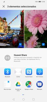 Transferir fotos vía Bluetooth - Huawei Mate 20 Pro - Passo 8