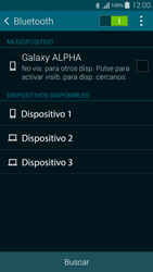 Conecta con otro dispositivo Bluetooth - Samsung Galaxy Alpha - G850 - Passo 6