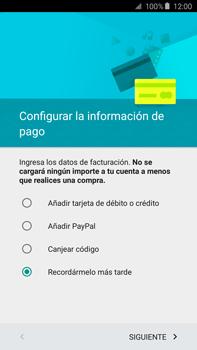 Crea una cuenta - Samsung Galaxy Note 5 - N920 - Passo 18