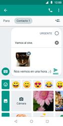 Envía fotos, videos y audio por mensaje de texto - Motorola Moto E5 Play - Passo 16