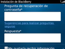 Crea una cuenta - BlackBerry Bold 9720 - Passo 12