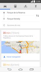 Uso de la navegación GPS - LG G3 Beat - Passo 16