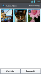 Transferir fotos vía Bluetooth - LG Optimus G Pro Lite - Passo 7