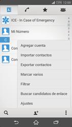 ¿Tu equipo puede copiar contactos a la SIM card? - Sony Xperia Z2 D6503 - Passo 5