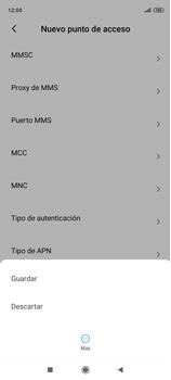 Configura el Internet - Xiaomi Redmi Note 9 Pro - Passo 16