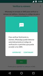 Configuración de Whatsapp - Motorola Moto G5 - Passo 10