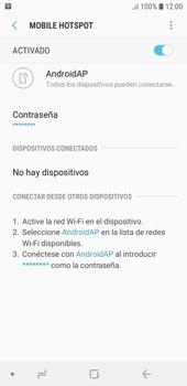 Configura el hotspot móvil - Samsung J6 - Passo 12