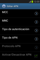 Configura el Internet - Samsung Galaxy Fame GT - S6810 - Passo 15
