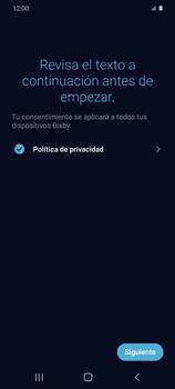 Cómo habilitar el asistente Bixby - Samsung Galaxy S20 - Passo 12