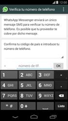 Configuración de Whatsapp - Motorola Moto X (2a Gen) - Passo 5