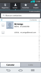 Envía fotos, videos y audio por mensaje de texto - LG G2 - Passo 5