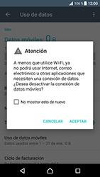Desactiva tu conexión de datos - Sony Xperia XZ Premium - Passo 5