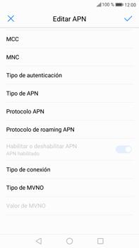 Configura el Internet - Huawei Mate 9 - Passo 14