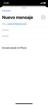 Cómo enviar un correo electrónico - Apple iPhone XS - Passo 6