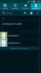 ¿Tu equipo puede copiar contactos a la SIM card? - Samsung Galaxy Alpha - G850 - Passo 4