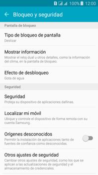 Desbloqueo del equipo por medio del patrón - Samsung Galaxy J7 - J700 - Passo 5
