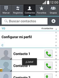 ¿Tu equipo puede copiar contactos a la SIM card? - LG L20 - Passo 10