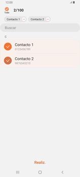 ¿Tu equipo puede copiar contactos a la SIM card? - Samsung Galaxy A80 - Passo 10