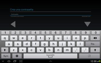 Crea una cuenta - Samsung Galaxy Note 10-1 - N8000 - Passo 10