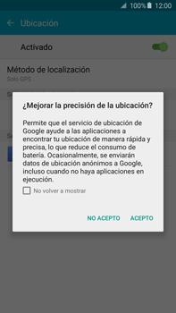 Uso de la navegación GPS - Samsung Galaxy Note 5 - N920 - Passo 19