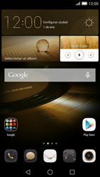 Transferir fotos vía Bluetooth - Huawei Ascend Mate 7 - Passo 1