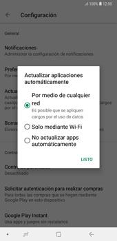Cambiar configuración de actualizaciones de aplicaciones - Samsung A7 2018 - Passo 6