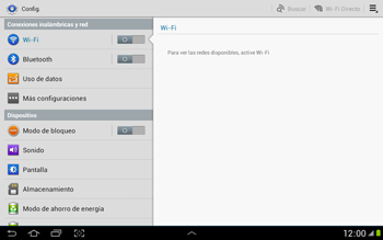 Configura el hotspot móvil - Samsung Galaxy Note 10-1 - N8000 - Passo 4