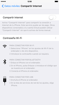 Comparte la conexión de datos con una PC - Apple iPhone 6s Plus - Passo 5
