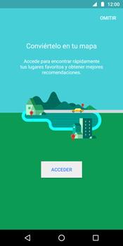 Uso de la navegación GPS - Motorola Moto G6 Plus - Passo 4
