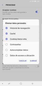 Limpieza de explorador - Samsung Galaxy S9 Plus - Passo 9