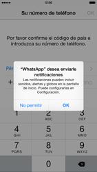 Configuración de Whatsapp - Apple iPhone 6 - Passo 5