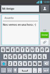 Envía fotos, videos y audio por mensaje de texto - LG L4 II - Passo 10