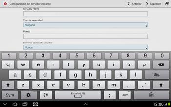 Configura tu correo electrónico - Samsung Galaxy Note 10-1 - N8000 - Passo 10