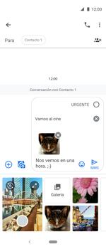 Envía fotos, videos y audio por mensaje de texto - Motorola One Vision (Single SIM) - Passo 18