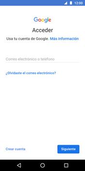 Crea una cuenta - Motorola Moto G6 Play - Passo 3