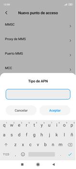 Configura el Internet - Xiaomi Redmi Note 9 Pro - Passo 13