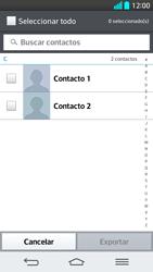 ¿Tu equipo puede copiar contactos a la SIM card? - LG G2 - Passo 7