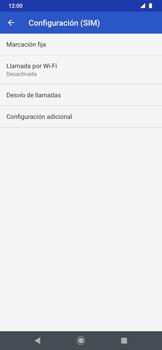 Habilitar el desvío de llamadas - Motorola One Zoom - Passo 7