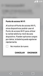 Configura el hotspot móvil - LG G5 - Passo 9