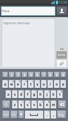 Envía fotos, videos y audio por mensaje de texto - LG Optimus G Pro Lite - Passo 4