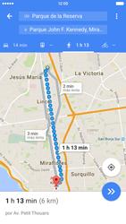 Uso de la navegación GPS - Apple iPhone 6s - Passo 19
