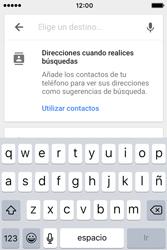 Uso de la navegación GPS - Apple iPhone 4s - Passo 16