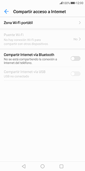 Comparte la conexión de datos con una PC - Huawei Mate 10 Pro - Passo 5