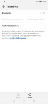 Conecta con otro dispositivo Bluetooth - Huawei Mate 20 Pro - Passo 5