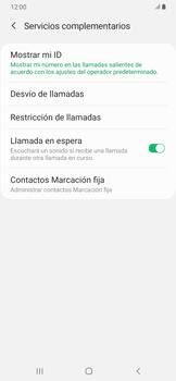 Configuración del identificador de llamadas - Samsung Galaxy A30 - Passo 8