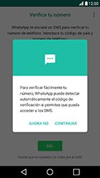 Configuración de Whatsapp - LG K10 2017 - Passo 8