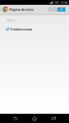 Configura el Internet - Sony Xperia Z3 D6603 - Passo 24